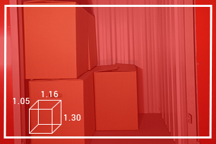 Rozmiar Boxów 1m²