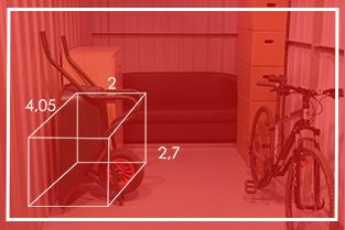 Rozmiar Boxów 8m²