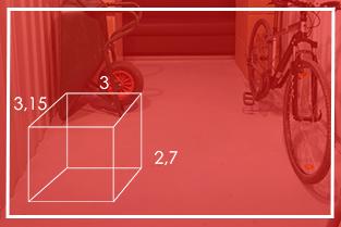 Rozmiar Boxów 9m²